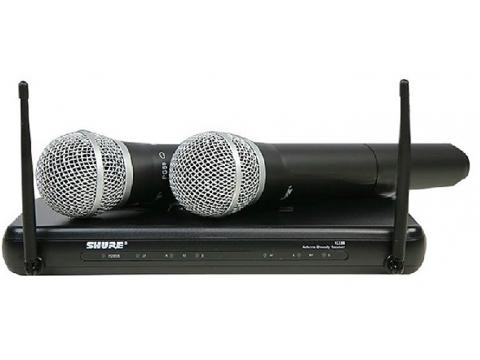 舒尔SHURE KCX288/PG58一拖二无线话筒