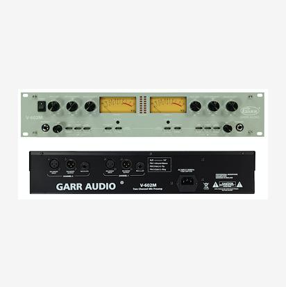 北京尚音科技有限公司:双通道话筒放大器GARR AUDIO V-602M
