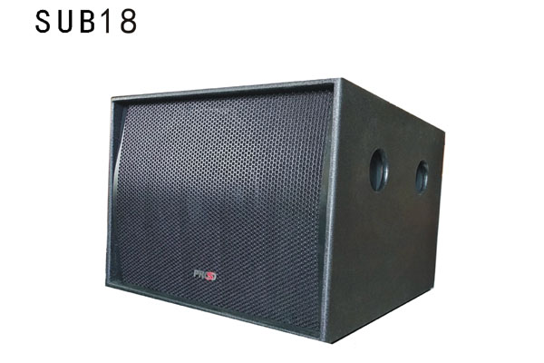 单18寸线阵列扬声器